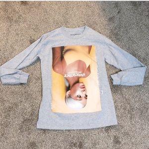 Ariana Grande Love sleeve Sweetener shirt
